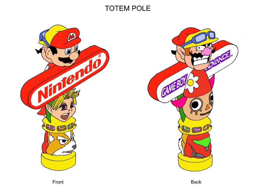 Nintendo totem