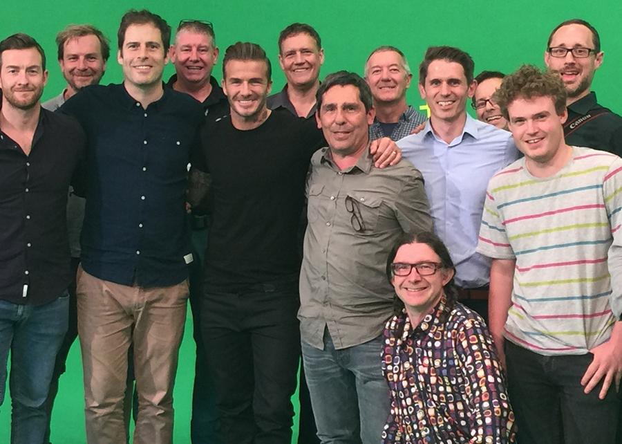Tony, Glyn, Dexter, Beckham