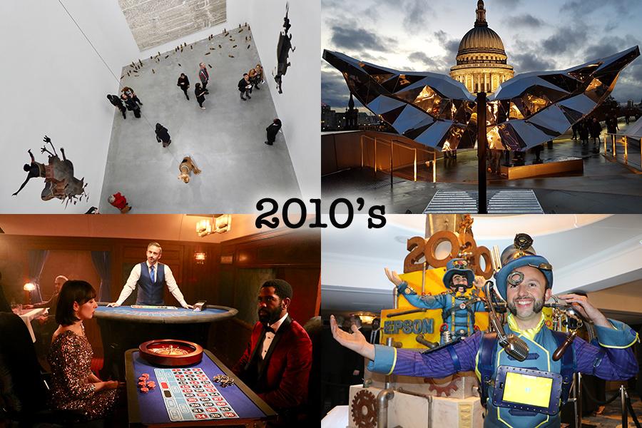 art direction studio 2010 Dan Colen christmaswings Coral AV awards