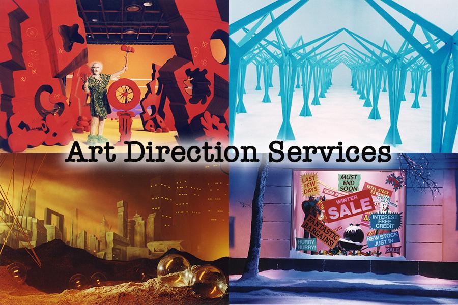 art direction services client history McDonalds RENFE Tescos