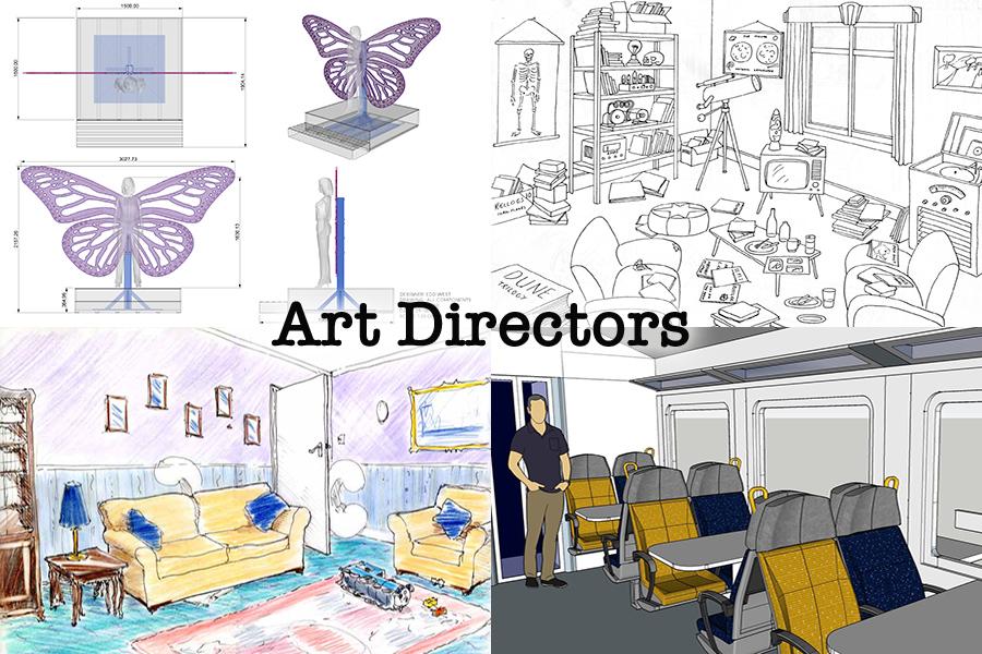 Art Department East London Art Directors drawings