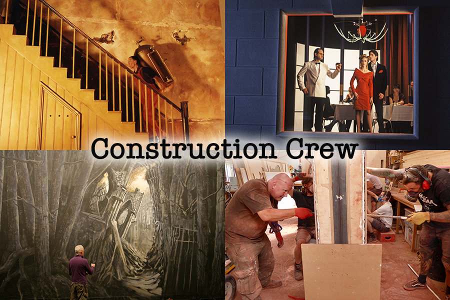 Set building services Construction crew Daynurse Access Sarah Brightman Dan Colen