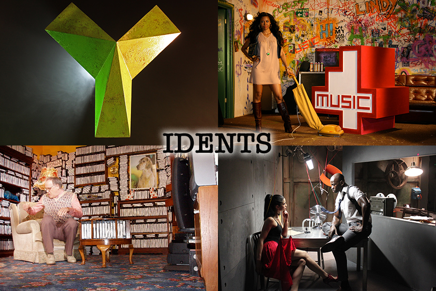 special effects services idents Yesterday 4Music all4 CBS