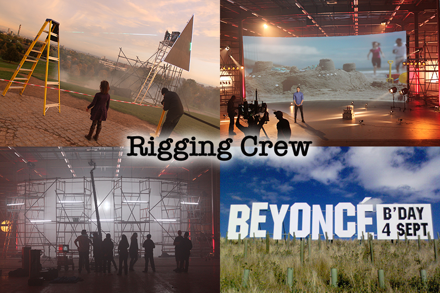 special effects services rigging crew Sky Arts Coca-Cola Beyonce