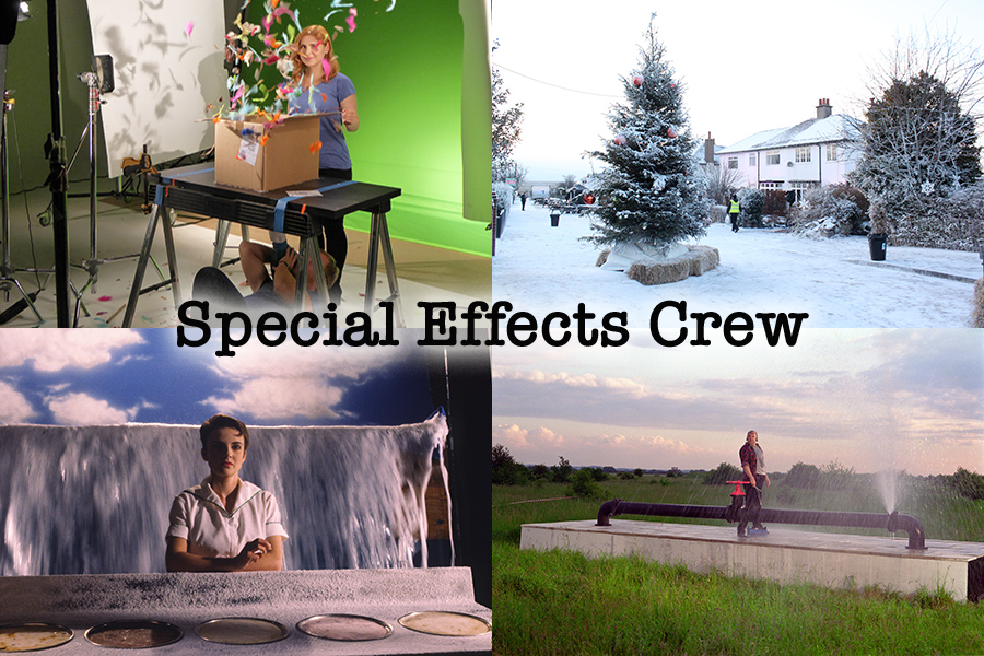special effects services Oxfam Sainsbury's Kemps cellnet