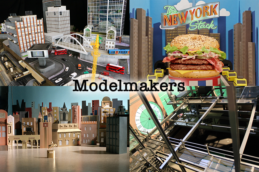 art department east London Modelmakers Thirdway McDonalds 9 to 5 Bon Jovi